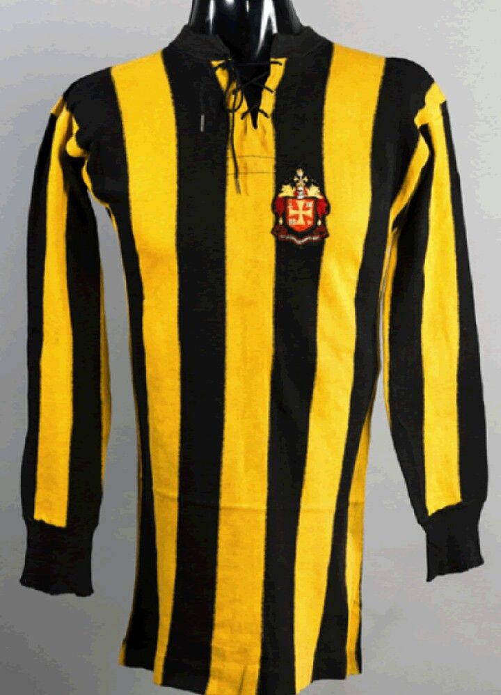 Wolves FA Cup Final shirt, c.1920s