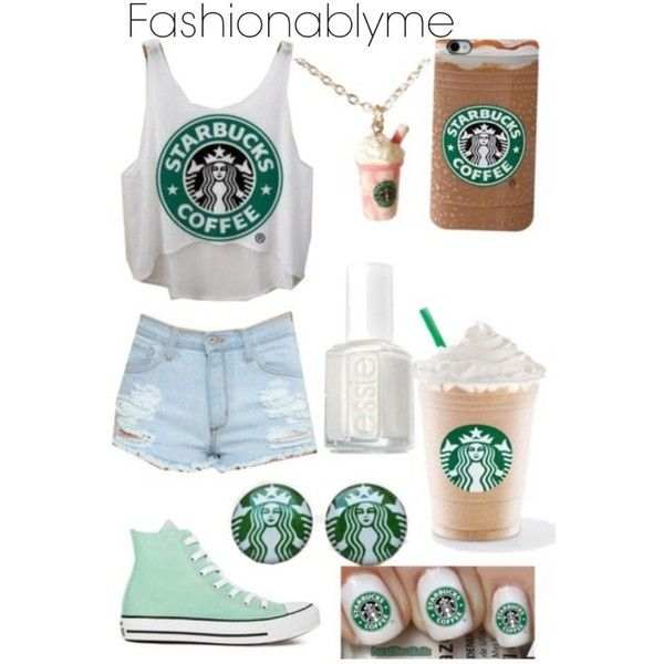 Starbucks CUTE OUTFIT. Amazing OUTFITS ❤ liked on Polyvore featuring accessories