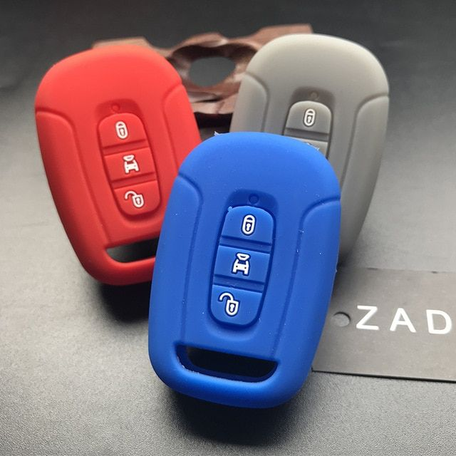 Zad Silicone Rubber Car Key Cover Case Protection Fob Set For