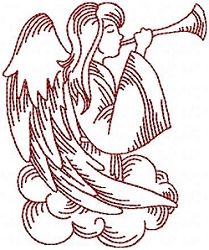 Nativity Redwork Set, 11 Designs - 5x7 | Christmas | Machine Embroidery Designs | SWAKembroidery.com Oma's Place