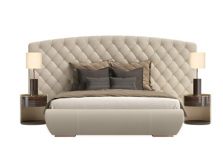 double bed with upholstered headboard kesy xl kesy collection by
