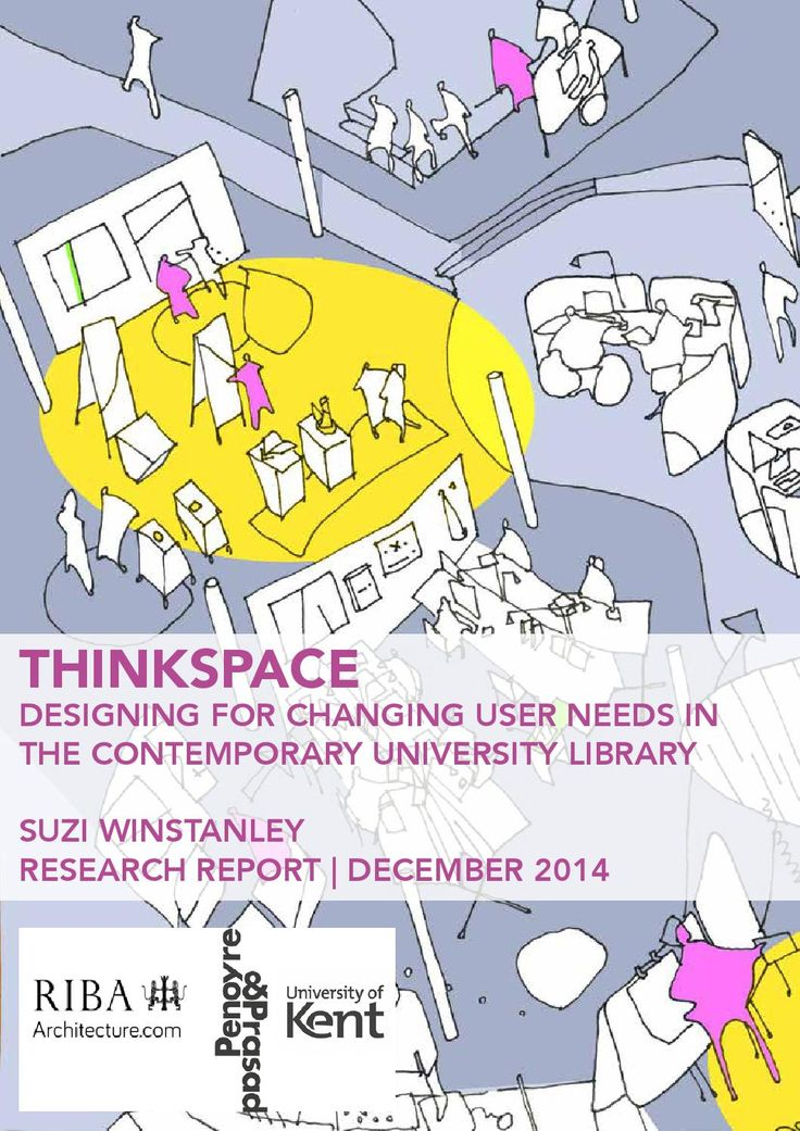 ThinkSpace is a research project that examines the new demands on reader space facing the contemporary university library, proposing and modelling prototype design solutions to meet these challenges as an integral part of the research process. This report outlines the key stages of the two year research project carried out by architect and researcher Suzi Winstanley.