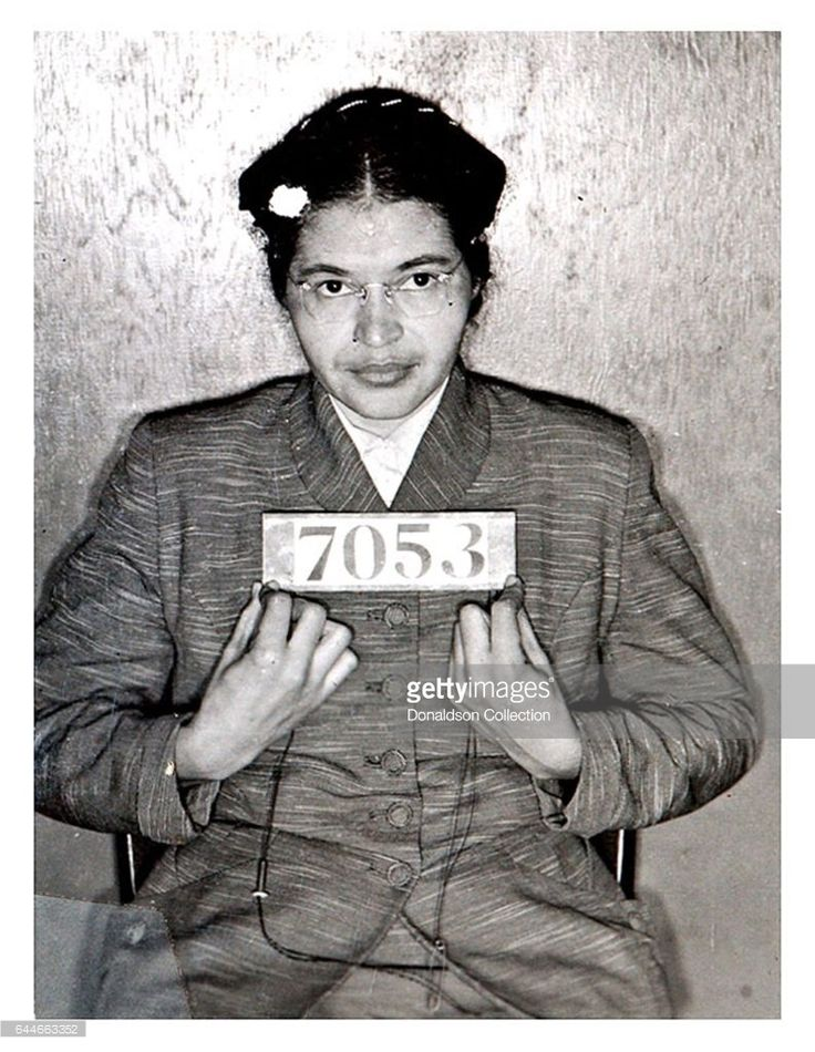 Rosa Parks mugshot in 1955. (Photo courtesy Bureau of Prisons/Getty Images)