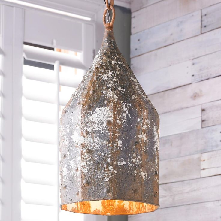 Vintage Industrial Bolted Pendant