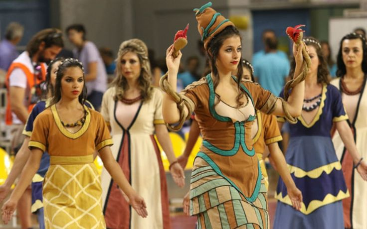 Women in Minoan Costumes.