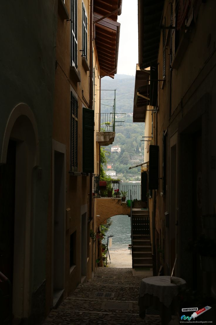 The narrow alleyways of Isola Superiore, near Stresa, Lago Maggiore. A Roadtrip through the Swiss Alps from Paris to Italy --> http://www.confiscatedtoothpaste.com/a-roadtrip-through-the-swiss-alps-from-paris-to-italy/