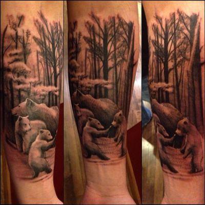 Best 25 cubs tattoo ideas on pinterest go cubs go for Bear cub tattoo