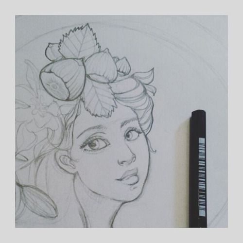 Nuovo progetto #sketch #sketching #womanportrait #woman #art #artist #artoftheday #artofinstagram #cute #illustrationart #illustration #doodle #wip #work #artwork #love #pencilart #pencil