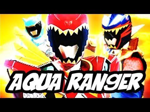 Power Rangers Dino Supercharge - Aqua and Talon Rangers Identity Explained