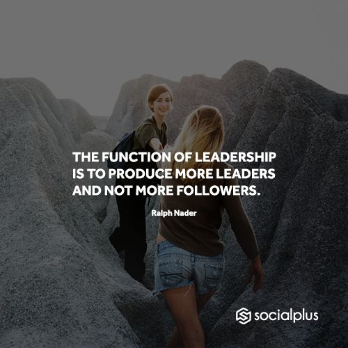 """""""Great leaders don't set out to be a leader they set out to make a difference. It's never about the role - always about the goal."""" - Lisa Haisha / Create your free #marketing portfolio on #socialplus - www.socialplus.net/?utm_content=bufferb3b4f&utm_medium=social&utm_source=pinterest.com&utm_campaign=buffer  #leadership #entrepreneur #marketing #marketingtips #leaders #community"""