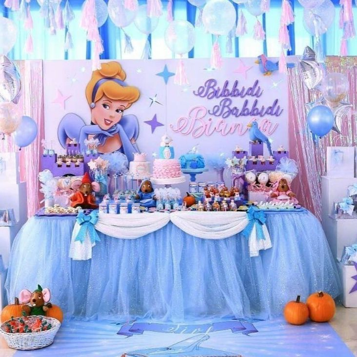 Cinderella Birthday Party Decorating Ideas Decoration For Home