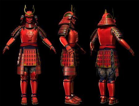 Костюм гейши-самурая