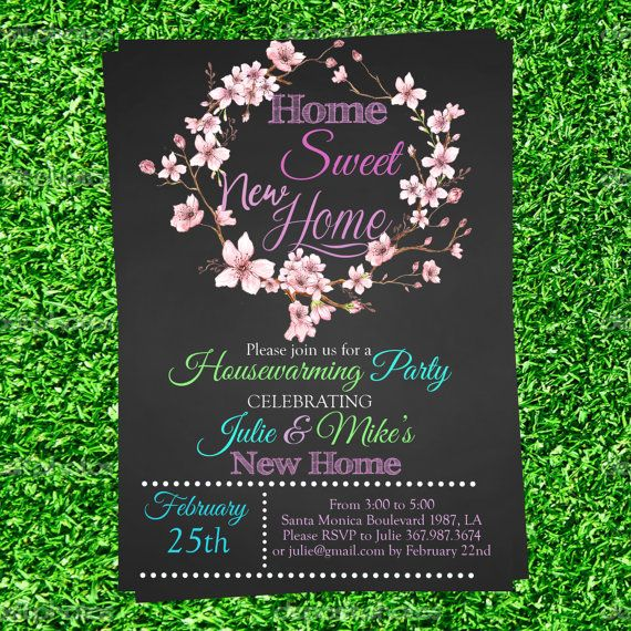 20 best Housewarming party invitations ideas from DIY Party - housewarming invitation template