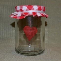 Szívbefőtt - Bálint nap - Valentin nap - Valentin day - szív - saját készítésű - DIY