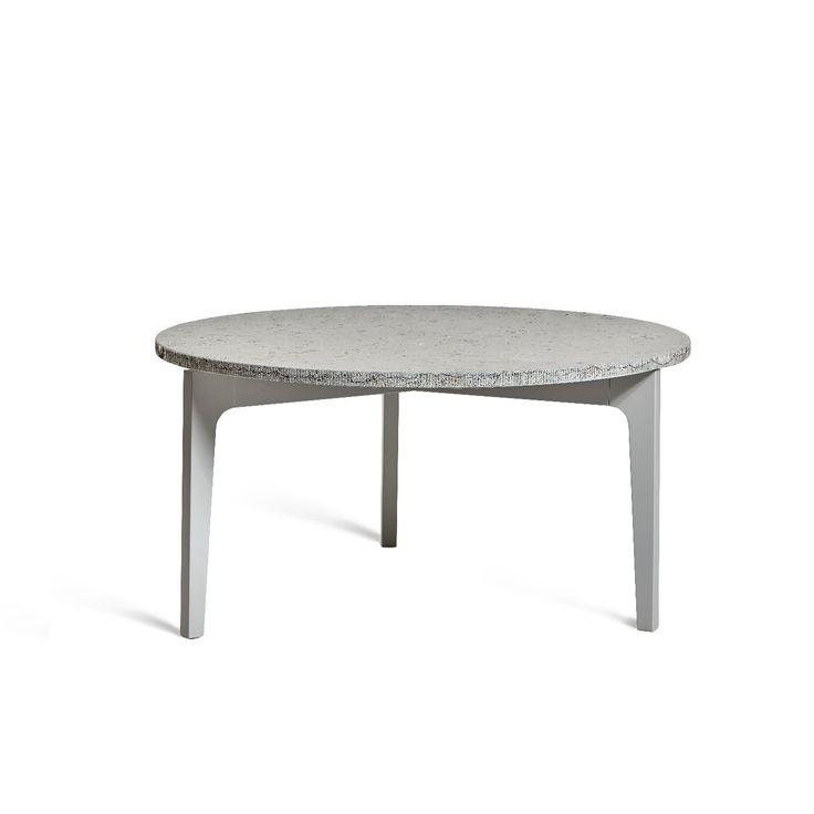 Höllviken soffbord ljusgrå med topp av kalksten 1391480K, Mavis   Designmöbler till bra priser. Svensktillverkat från Mavis. FRI FRAKT. Välkommen.