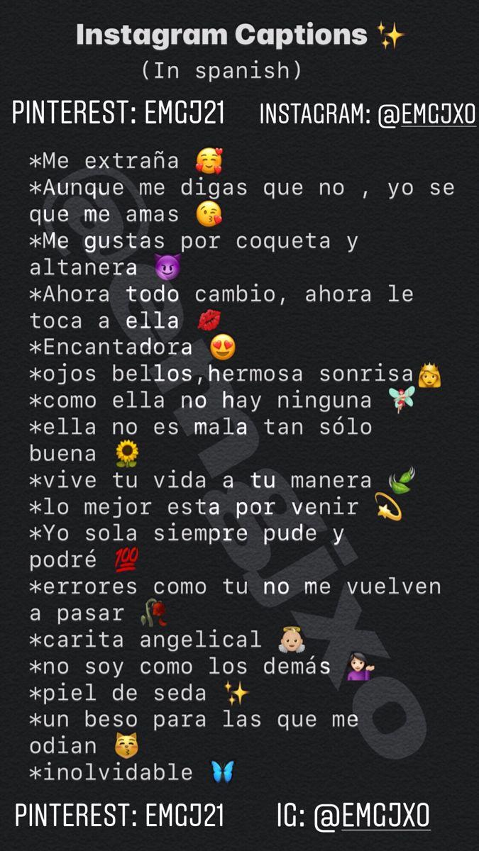 Baddie Captions In Spanish : baddie, captions, spanish, Instagram, Captions, Spanish), Quotes,, Witty, Captions,, Quotes