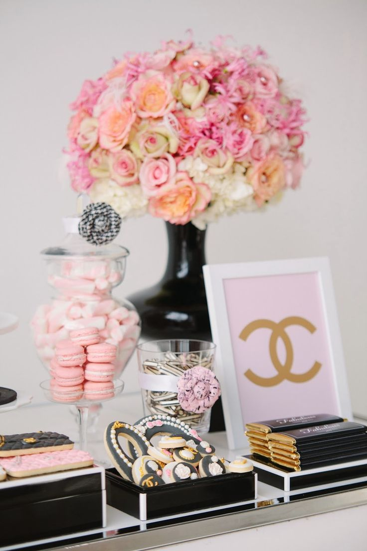 I absolutely love today's feature , i have been patiently waiting with excitement to share with you all this gorgeous Coco Chanel party f...