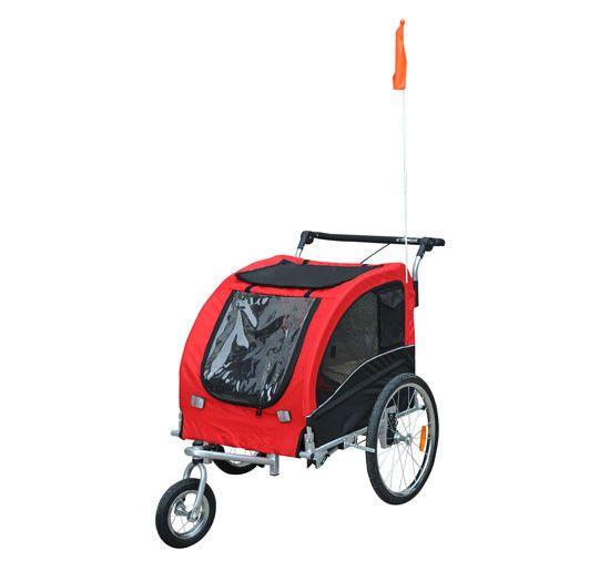 Aosom Elite Pet Dog Bike Trailer Bicycle Trailer Stroller ...