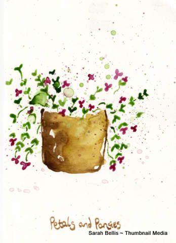 Petals & Pansies Sarah Bellis Designs www.thumbnailmedia.com