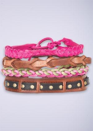 Bracelets from Delia's