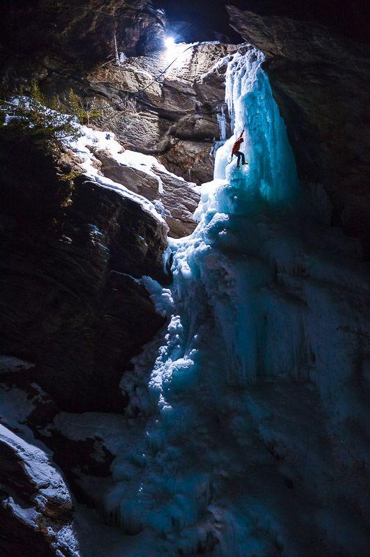 Cascades of Light - Photo by Kamil Tamiola/Alpine Photography. #Lowepro #Loweprofessionel #KamilTamiola