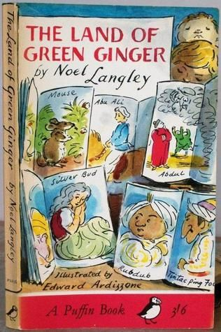 Edward Ardizzone illustrator Land of Green Ginger. Noel Langley
