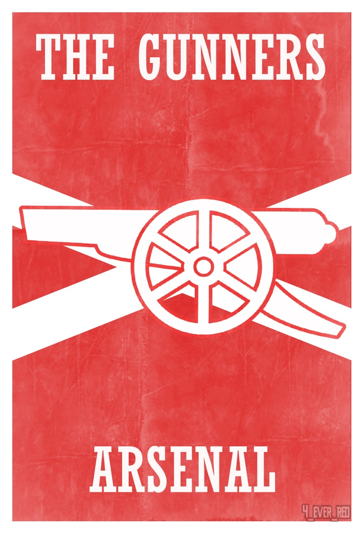 Footy Works Vintage Arsenal poster xx quilt IDEA appliqu two color red white solids xx