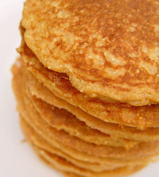 Whole Wheat Blender Pancakes   Food Storage Recipes and Ideas   Pinte ...