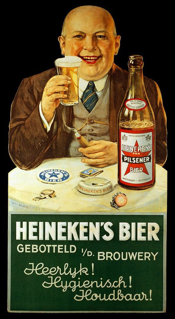 It's Nice That : Check out these excellent retro Heineken adverts from across the decades