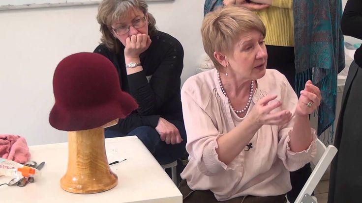 """Фрагмент видео-семинара по """"Шляпкам на основе берета. Технология однослойных полей"""""""
