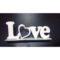 Letras E Palavras Especiais Love Amor Nomes Em Mdf Branco