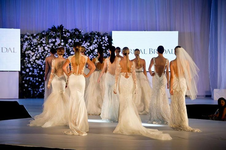 Check out this shot of the backs of the incredible Eternal Bridal gowns featured on the #UltimateBridalEvent catwalk! Don't worry Sydney we'll be seeing you in 2 weeks at the Qantas Credit Union Arena!!