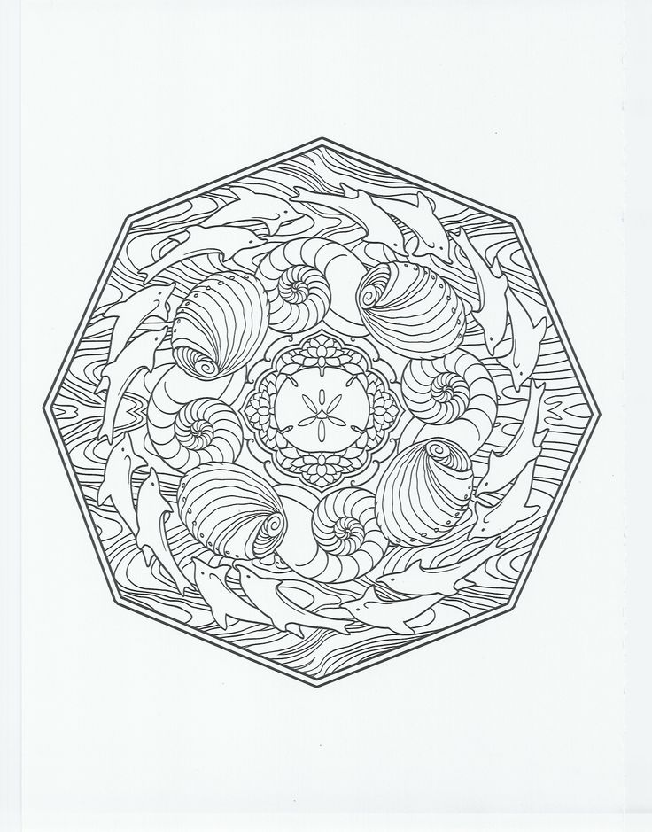 animal mandala dolphin coloring pages pinterest mandalas animals and dolphins. Black Bedroom Furniture Sets. Home Design Ideas