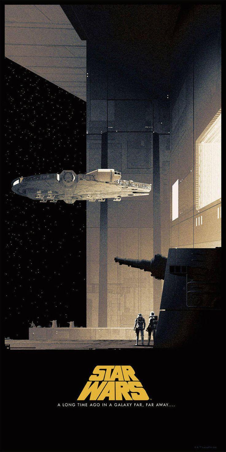 Comics-Like Illustrated Star Wars Posters