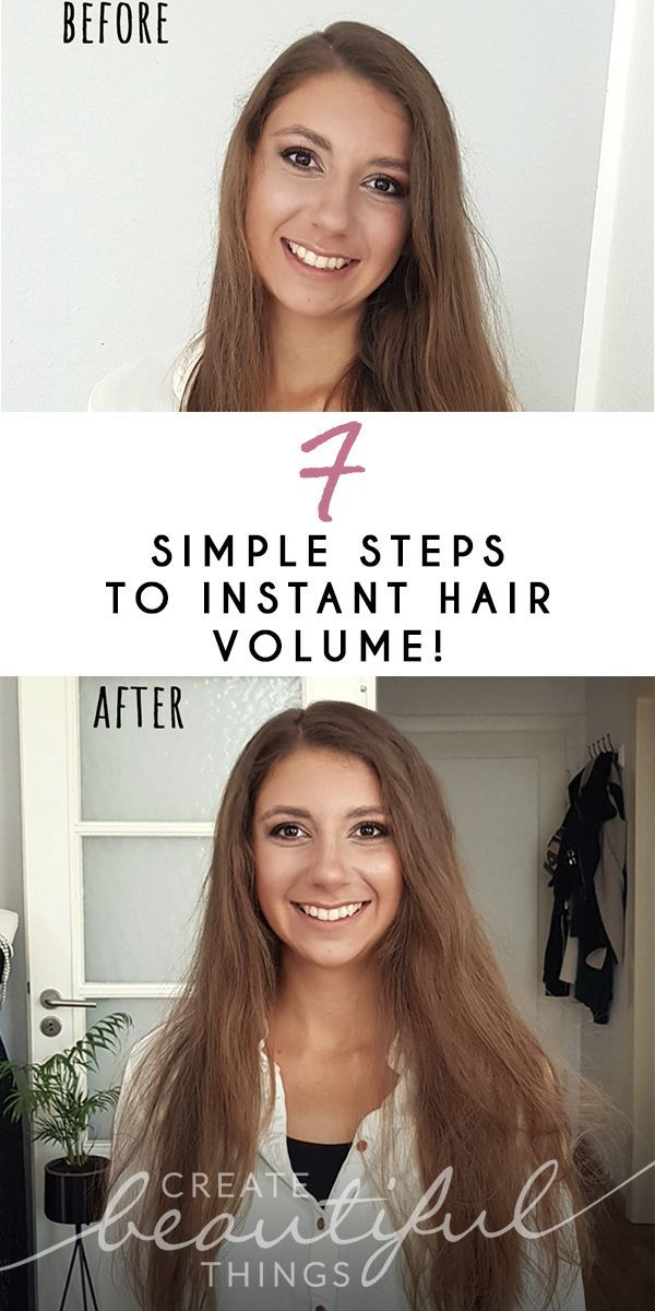 7 Simple Steps to Instant Hair Volume