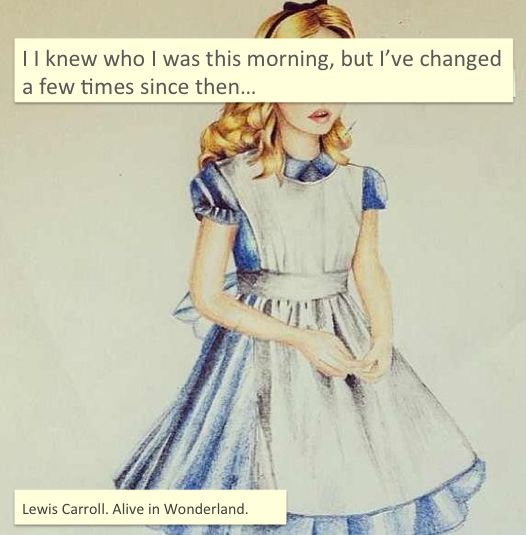 Alice In Wonderland Quote: Lewis Carroll