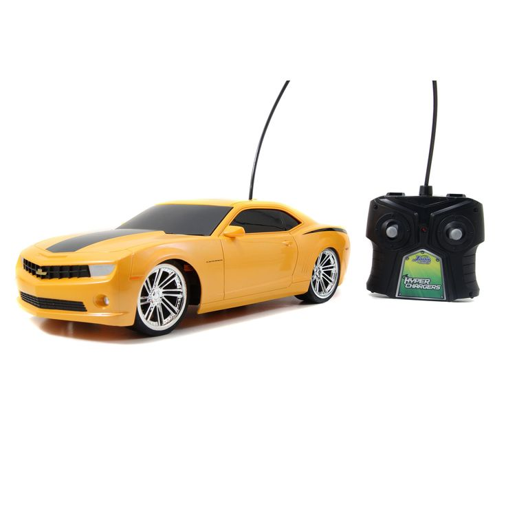 Jada Toys HyperChargers 1:16 2010 Chevy Camaro Remote Control Car