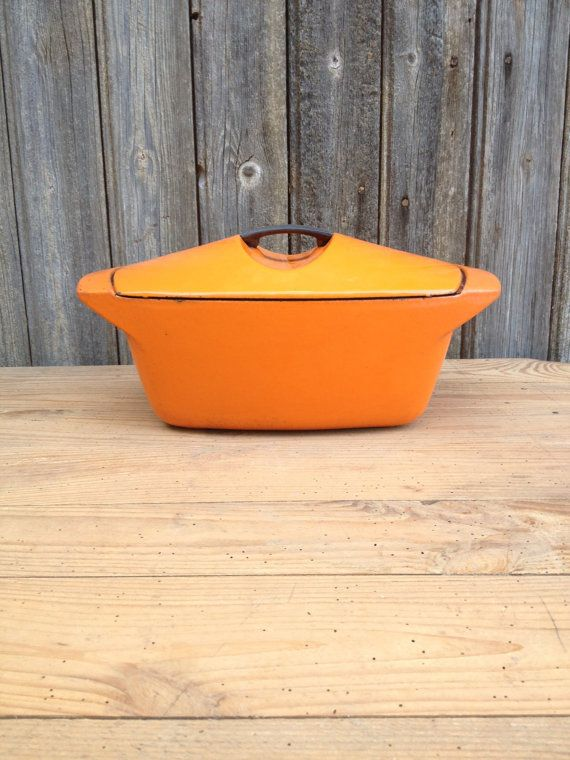 French vintage cocotte model design orange door VINTAGEorangeBAZAR