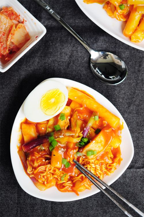 how to make tteokbokki ramen
