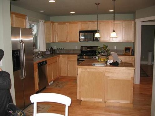 Kitchen paint interior home pinterest kitchen paint for Brown kitchen paint ideas