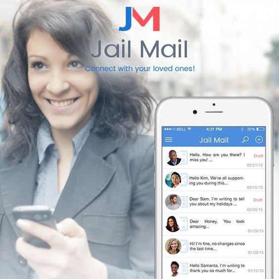 How to write or send a letter to an #inmate? Get Jail Mail App!
