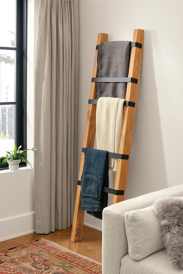Bruns Ladder In Reclaimed Wood Modern Living Room Furniture With Images Modern Furniture Living Room Home Decor Sustainable Furniture