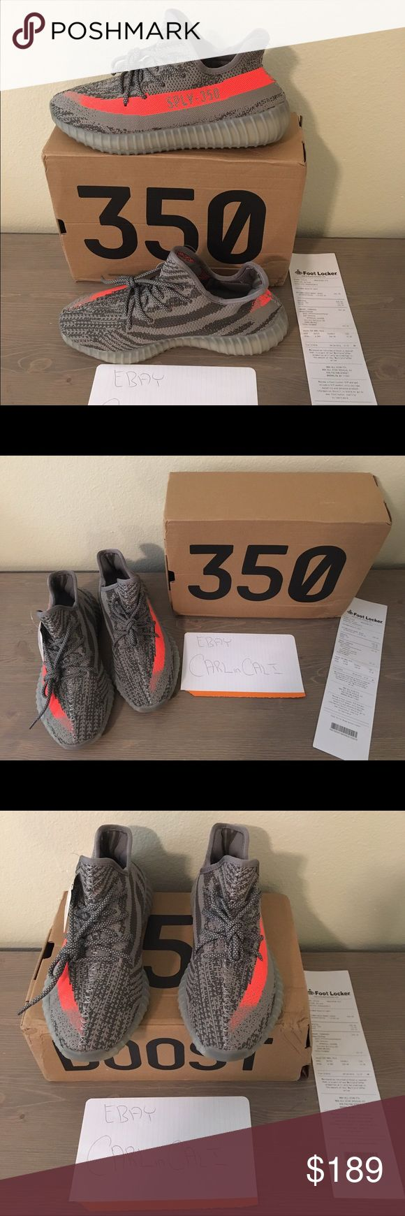 New Yeezy Boost 350 V2 Beluga - w/ Box & Receipt New Yeezy 350 V2 Beluga w/ Box & Receipt. We have both Men's & Women's sizes in limited quantities. Womens Sizes: 5, 6, 6.5 & 7.5 - Mens Sizes: 7, 8, 8.5, 9.5, 10, 11.5, 12.5 - We also have Oxford Tans, Moonrocks, Pirate Blacks & Turtle Doves For Sale. Contact us if interested. Thank you. Yeezy Shoes Sneakers
