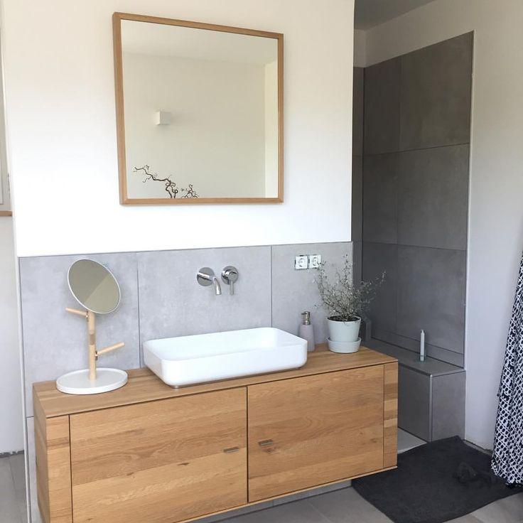 52 besten Fliesen\/Bodenbeläge Bilder auf Pinterest Bodenbelag - badezimmer grau wei