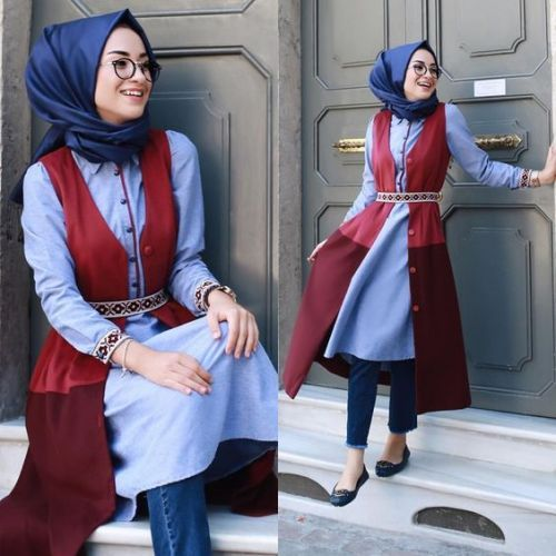 Hijab outfits in summery vibes – Just Trendy Girls