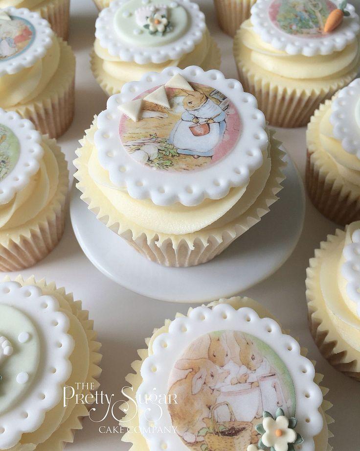 Beatrix Potter baby cupcakes
