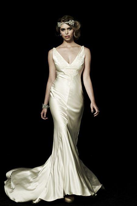 93 best images about art deco wedding on pinterest art for Art deco wedding dresses