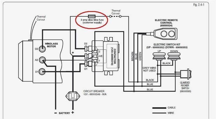 Lewmar Windlass Wiring Diagram Upgrade Windlass Power