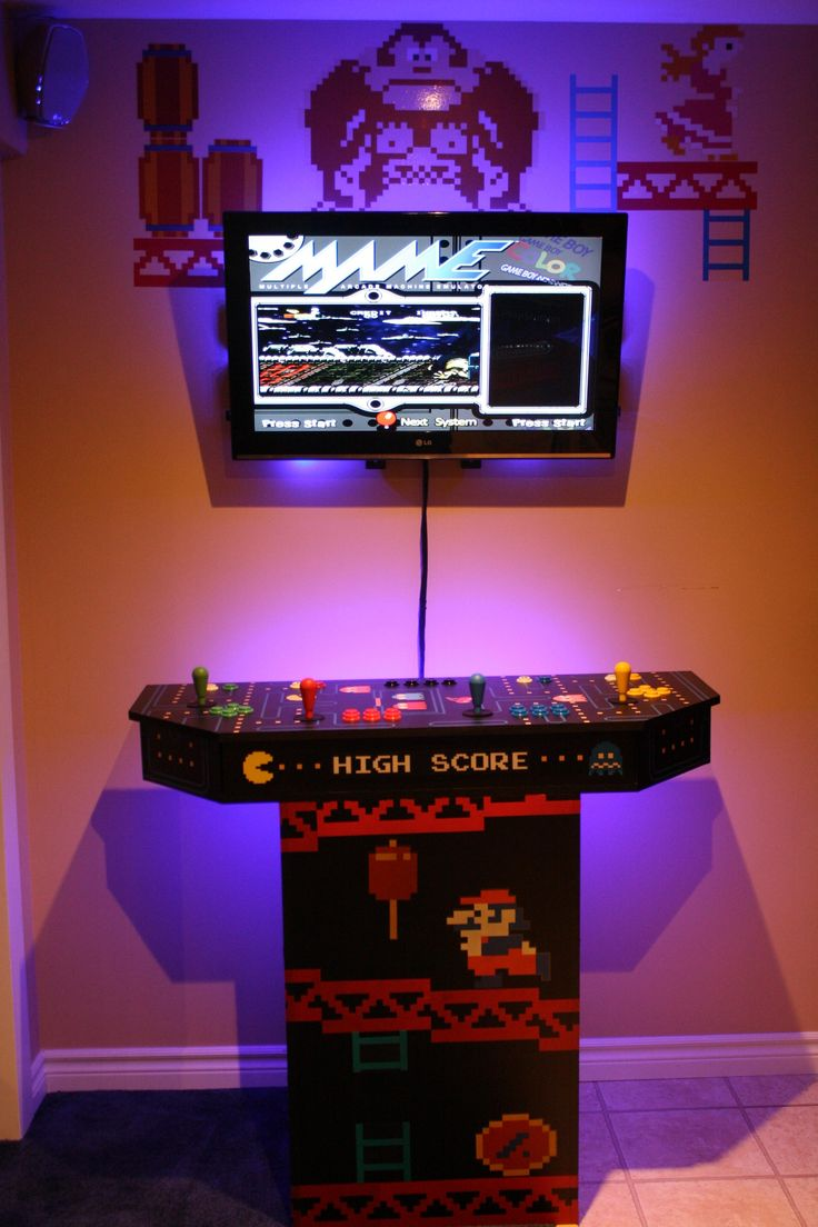 Man Cave Arcade Facebook : Best images about man cave on pinterest home theaters