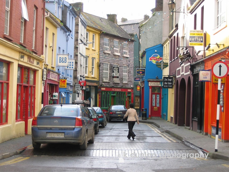 The streets of Kinsale Ireland #ridecolorfully